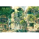 Puzzle  Famoso Dipinto Paesaggio 1000 Pezzi di Legno decompressione Adulto Giocattolo Fumetto Anime Castello Bambini PT412 (Dimensioni : 300pc)