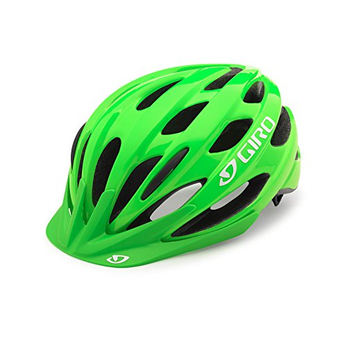 Giro Raze Jugend Fahrrad Helm grün Einheitsgröße 50-57