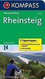 Rheinsteig - 17 Tagesetappen: Wanderführer mit Tourenkarten und Höhenprofilen (KOMPASS-Wanderführer, Band 5222)