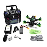 180mm FPV Racing Drone RC cuadricópteros montado RTF con controlador de vuelo F3 HD TX cámara FlySky FS-I6 Radiocontrol