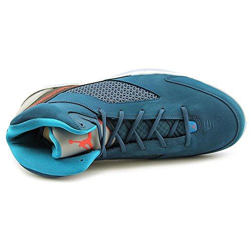 Nike Air Jordan Flight Remix Sneaker Chaussures Basket Bleu/Noir/Blanc vert