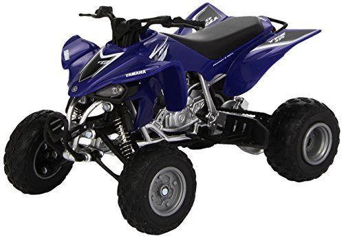 toys-r-us-toys-fast-lane-112-scale-die-cast-atv-white-2005-yamaha-raptor-660r-by-toys-r-us