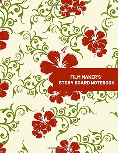 Film Maker's Story Board Notebook: Large Film Making Journal Logbook Planner Notepad Clapperboard for Creative Storytelling Story Drawing. Gifts for ... Pages (Film Writing & Sketching Log, Band 27)