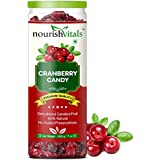 Nourishvitals Cranberry Dried Fruit (Dehydrated Fruits) - 200 Gm