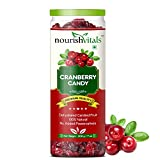 Best Dried Cranberries - Nourishvitals Cranberry Dried Fruit (Dehydrated Fruits) - 200 Review