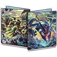 Ultra Pro Pokemon Card 9 Pocket Binder Album Portfolio featuring Mega Rayquaza Ex and Primal Groudon