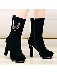 KHSKX-Le Brutal Avec Les Bottes Chaussures Et Bottes D Hiver Et Le Coton 9de475a91fb