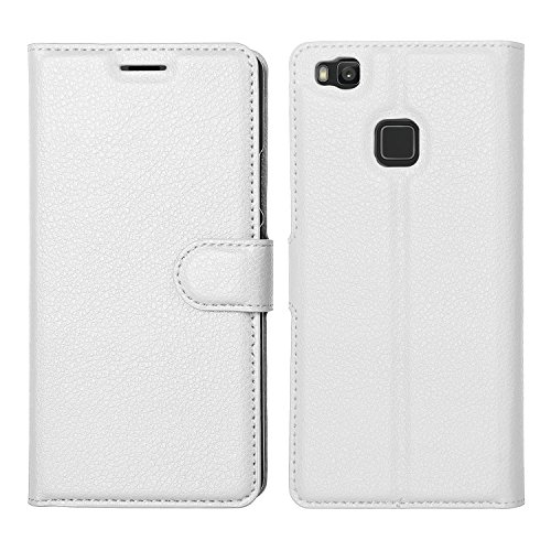 IVSO Huawei P9 Lite Cover - Slim Armor Cover Custodia per Huawei P9 Lite Smartphone (Bianco)