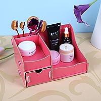 attachmenttou Organizer 3 Schublade Makeup Schmuck Schreibtisch aus Holz Aufbewahrungsbox DIY Organisator Fall preisvergleich bei billige-tabletten.eu