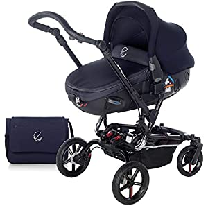 Jané 5480 T31 - Paseo Chairs Cosatto Includes - Pram & Pushchair, Hold Car seat, Adaptors, Apron and Raincover Suitable from birth up to 15kg, One unit transforms from newborn pram mode into pushchair mode. Space saving. No need to buy separates. 'In or out' facing pushchair seat lets them bond with you or enjoy the view. 8