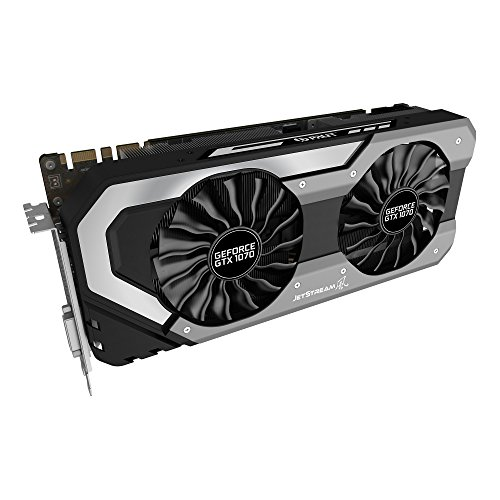 Price comparison product image Palit Super Jetstream NVIDIA GeForce GTX 1070 GDDR5 Graphics Card - Black