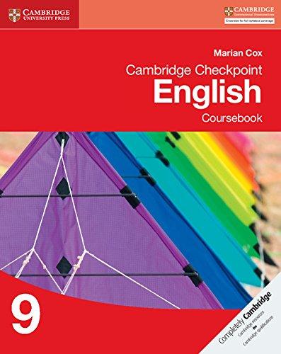 Cambridge Checkpoint English Coursebook 9 (Cambridge International Examin)