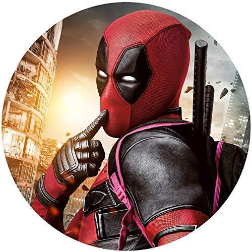 er Tortenbild Geburtstag Deadpool T3 ()