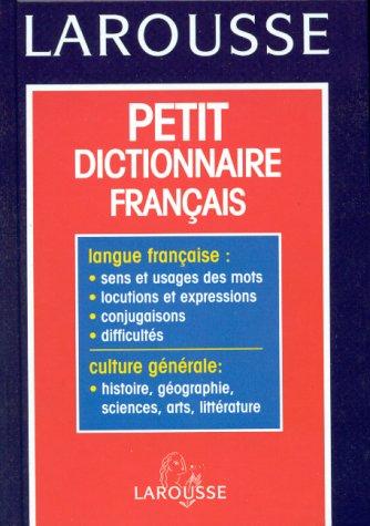 Petit dictionnaire français par Collectif