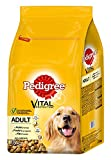 Pedigree Hundefutter Trockenfutter Adult mit Huhn und Gemüse, 1 Beutel (1 x 7,5kg)