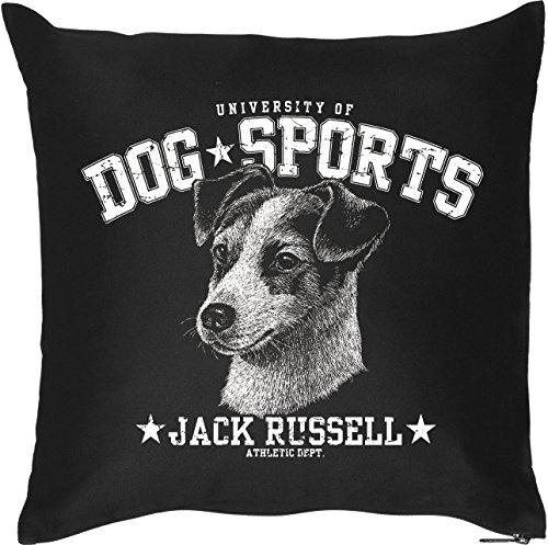 Rivestimento::: Dog Sports Jack Russell::: morbido cuscino per appassionati di cani