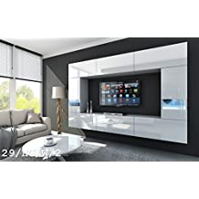 Tv schrank modern led  Suchergebnis auf Amazon.de für: wohnwände modern