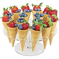 Eistütenhalter Ice Creme Ice Stand drei Löchern Eistüten 2er Set Eishalter
