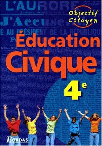 Education civique : 4e. Manuel de l'élève