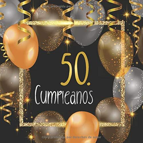 50. Cumpleaños: Libro de invitados 50. Cumpleaños - El recuerdo de tu 50. Cumpleaños