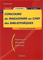 Concours de magasinier en chef des bibliothèques : Catégorie C