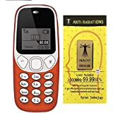 IKALL K71 Mobile Phone With Vibration Feature, 800 MAh Battery, With Anti-Radiation Sticker (Red)