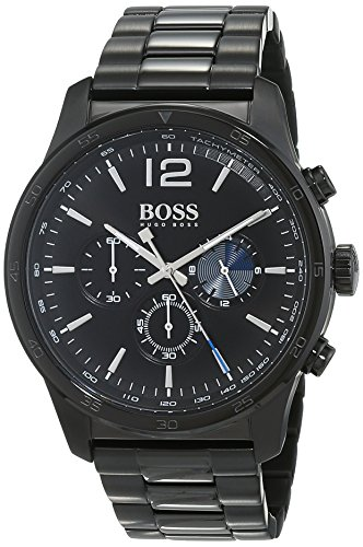 Hugo BOSS Homme Chronographe Quartz Montre avec Bracelet en Acier Inoxydable 1513528