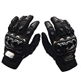 Gants de Moto /All- Doigt Gants d'équitation Extérieur Gants / Off-Road Gants équitation Gants/Locomotive Knight Gants-noir,L