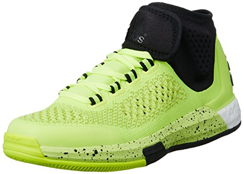 adidas Herren Basketballschuhe Crazylight Primeknit solar yellow/core black/solar yellow 48