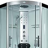 AcquaVapore DTP8058-6002 Dusche Dampfdusche Duschtempel Duschkabine 100×100 XL, EasyClean Versiegelung der Scheiben:2K Scheiben Versiegelung +89.-EUR - 8