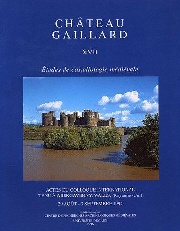 Château Gaillard : Tome XVII, Actes du colloque international tenu à Abergavenny, Wales (Royaume Uni), 29 août - 3 septembre 1994 par Peter Curnow