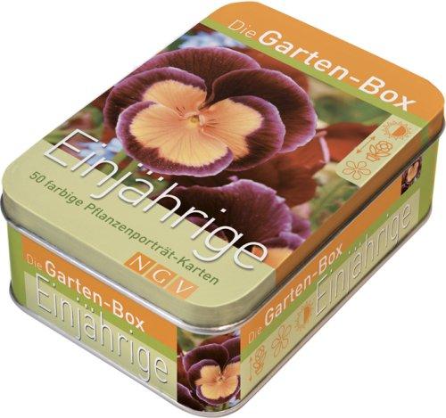 Preisvergleich Produktbild Die Gartenbox - Einjährige: 50 farbige Pflanzenporträt-Karten