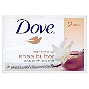 51969XmnOFL. SS300  - Dove Purely Pampering Cream Bar - Shea Butter with Vanilla (2x100g) by Grocery