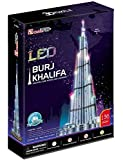 3D Puzzle Burj Khalifa LED Cubic Fun Upgradeversion