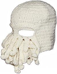 Sombrero de Tentáculo de Pulpo Knit Beanie Invierno Cálido a Prueba de Viento Actividades al Aire Libre Estilo de Moda Sombrero,