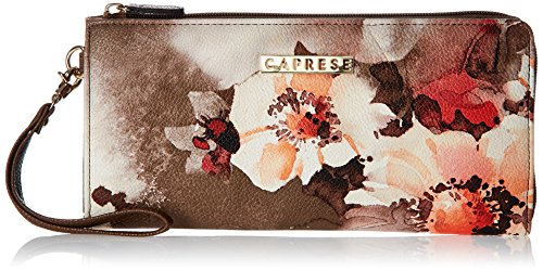 Caprese Florence Women's Clutch (Orange)  available at amazon for Rs.1649