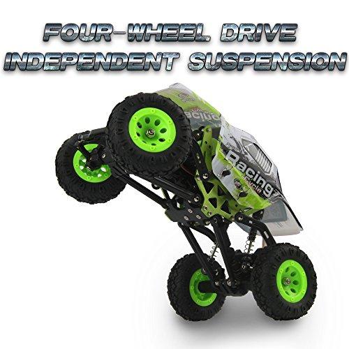 1:24 Skala RC Rennwagen 2.4G Hochgeschwindigkeits-4WD Elektrischer Energie-Buggy weg vom Straßen-Auto - 9