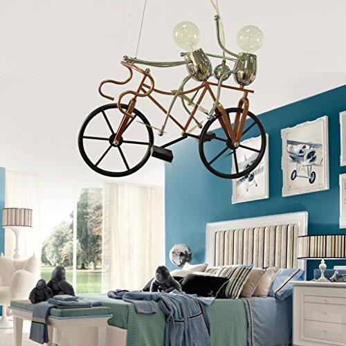 Zimmerlampe Schlafzimmerlampe Jungen Mädchen Zeichentrickfigur Kind Kinder kreative Lampe schöne warme Leuchterlampe Newcastle Ritter - 3