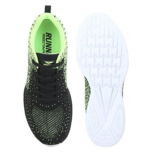 Red Tape Mens Blackgreen Running Shoes Epresence Amazon Best