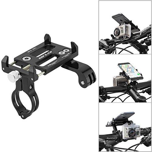 GUB Universal Bike Fahrrad Motorrad Halterung für Handy, Smartphone, Navi usw. mit Halter für GoPro, ActionCams...