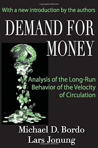 Demand for Money PDF Books