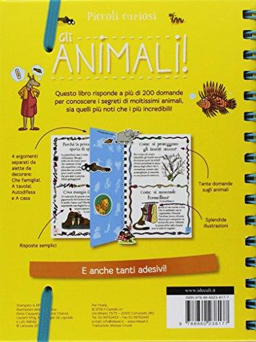 ! Gli animali. Piccoli curiosi. Con adesivi. Ediz. a colori. Ediz. a spirale Epub Gratis