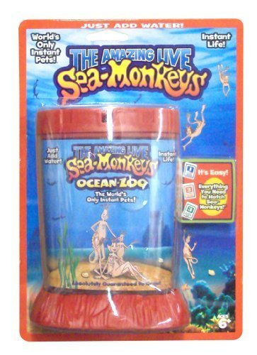 Sea Monkeys Ocean Zoo Deluxe Kit Set by Big Time Toys
