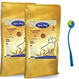 2 x 12,5 kg Lyra Pet Dog Light Trockenfutter übergewichtige Hunde+ Ballschleuder