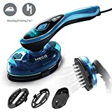 MECO ELEVERDE Clothes Steamer Travel Iron 1500W Garment Steamer 2-in-1 Horizontal and Vertical