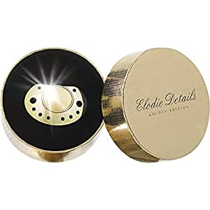 Elodie Details Sucette, Collection Exclusive, Coffret Sucette Gold Edition, Or
