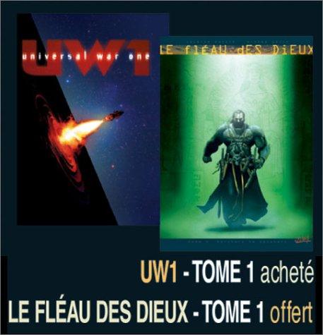 2 BD pour le prix d'1 : Universal War One, tome 1 + Le Fléau des dieux, tome 1