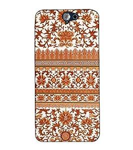 Fuson Designer Back Case Cover for HTC One A9 (Designer Pattern Design Art)
