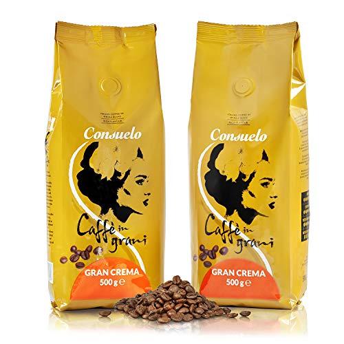 Consuelo Gran Crema - Café en grano italiano - 2 x 500g