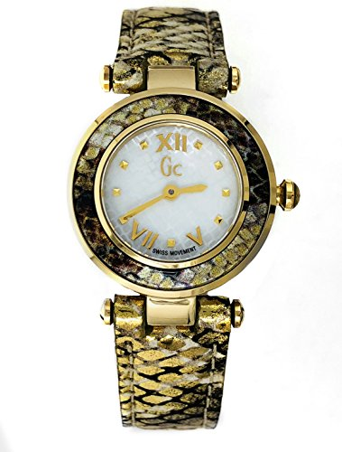 Guess Collection Damenuhr GC Ladychic 25mm Schlangenmuster Lederband b81b23a6fc4
